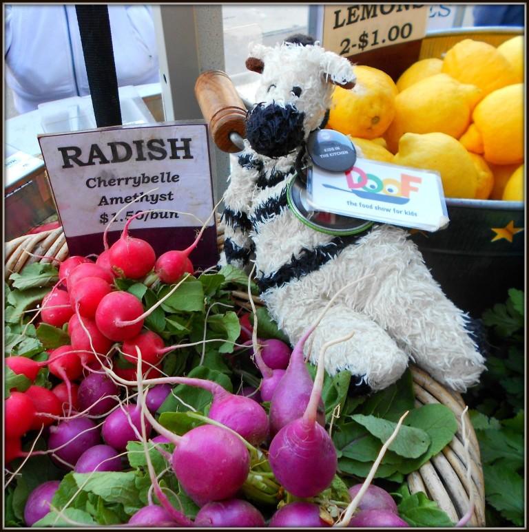 ZeBot's Farmer's Market Radishes