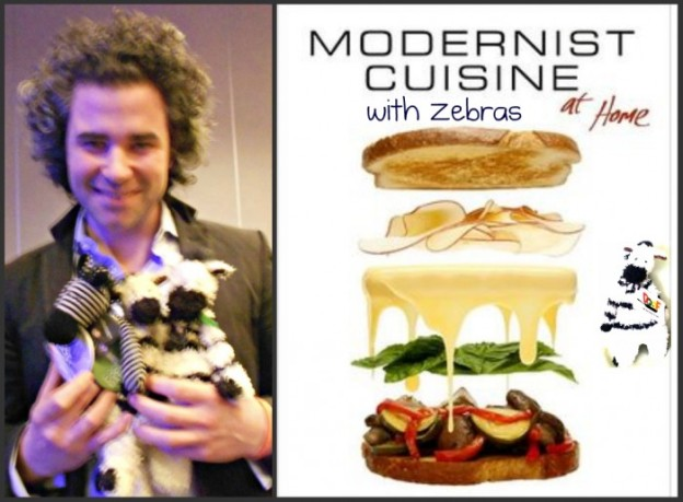 Discover the amazing art and science of cooking with ZeBot and Modernist Cuisine guru Maxime Bilet!