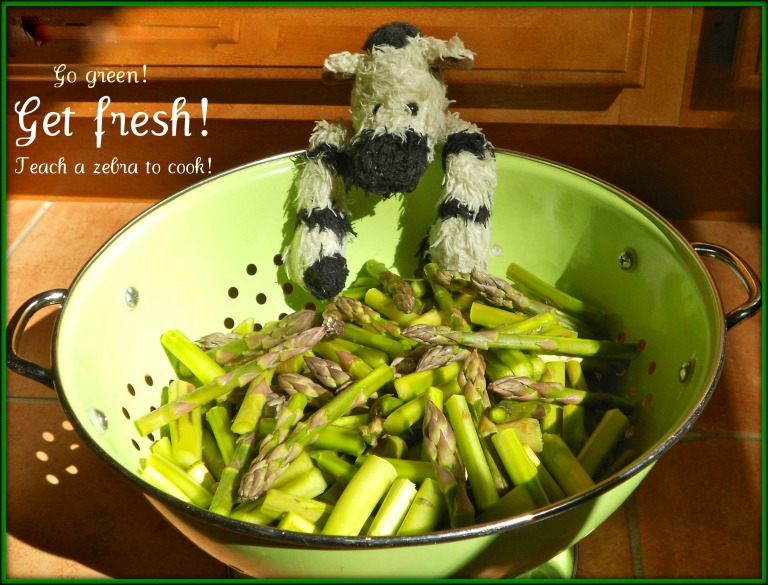 Go Green ZeBot Asparagus