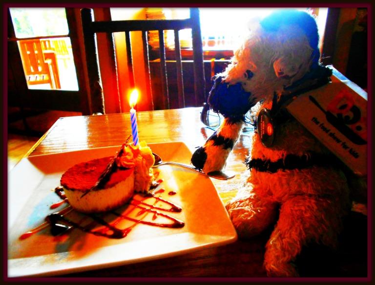 ZeBot Birthday Candles