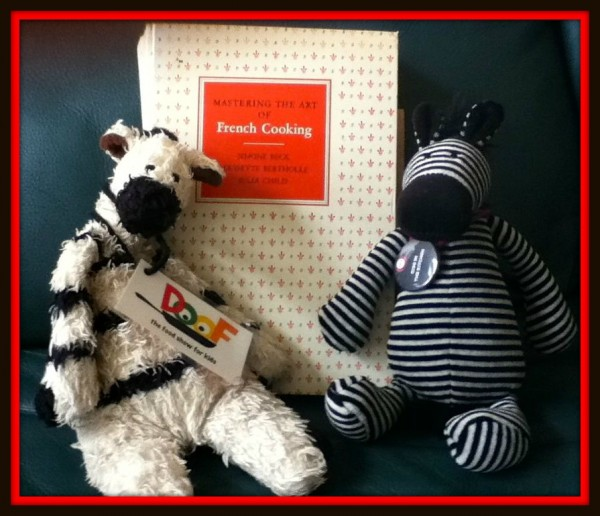 Julia can teach ANYONE to master the art of French cooking – even zebras!