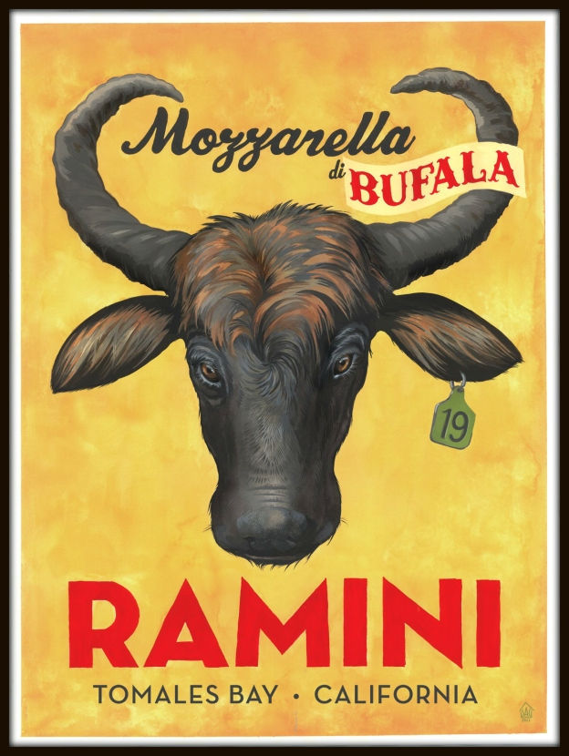 Ramini mozzarella di bufala is made fresh -- just like in Italy!