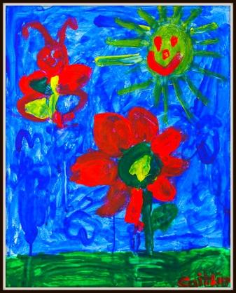 Caitlin's Flowers & Butterflies