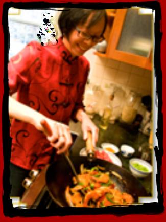 ZeBot & Grace Stir-Frying