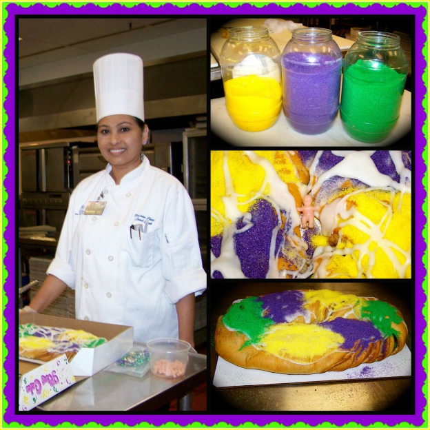 Professional King Cake Collage
