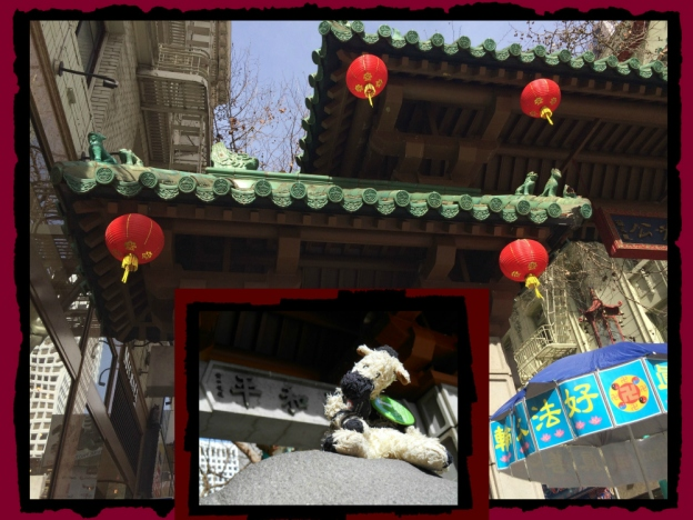 Chinatown Gate with ZeBot